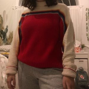 A cute knitted forever 21 sweater